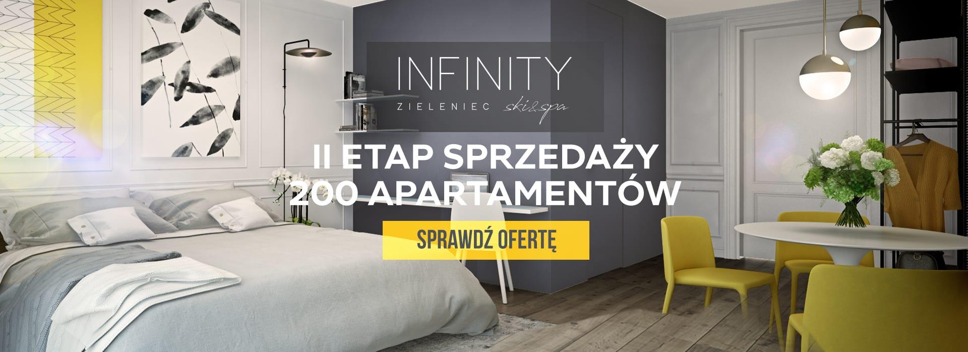 Rozpoczęcie 2 etapu sprzedaży Infinity