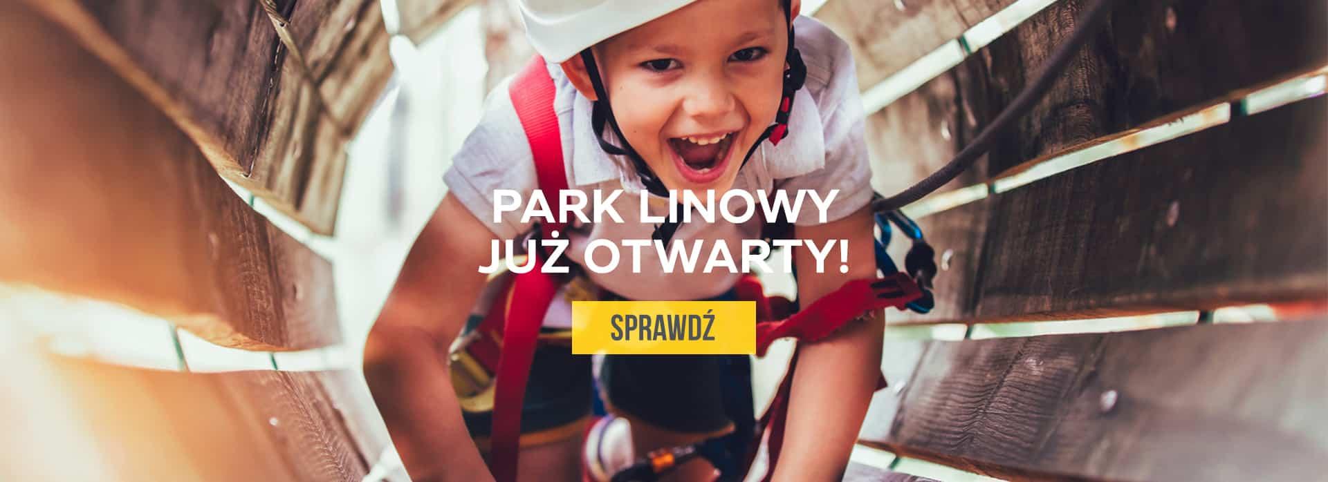 Park Linowy już otwarty. Sprawdź>