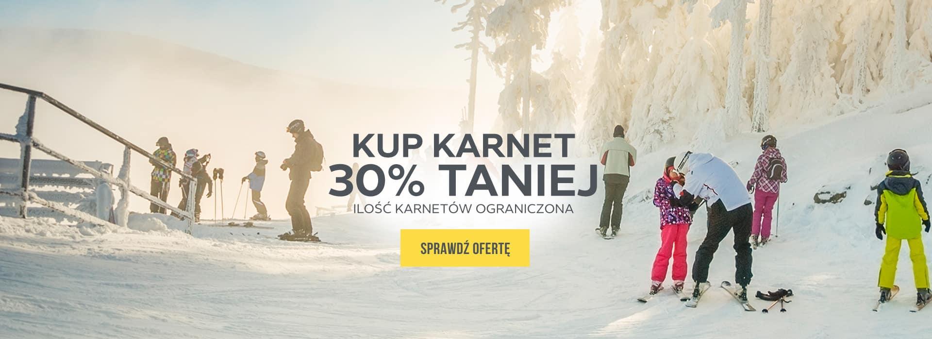 Kup karnet 30% taniej! Sprawdź