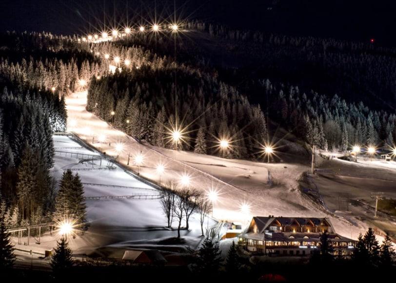 Nocne jazdy w Czarna Góra Resort