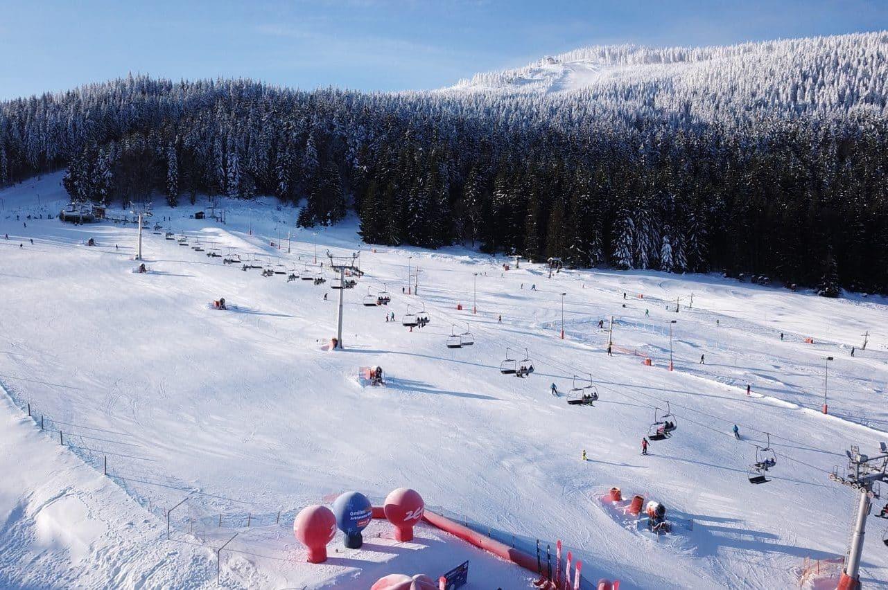 Ośrodek Narciarski Czarna Góra w Sudetach