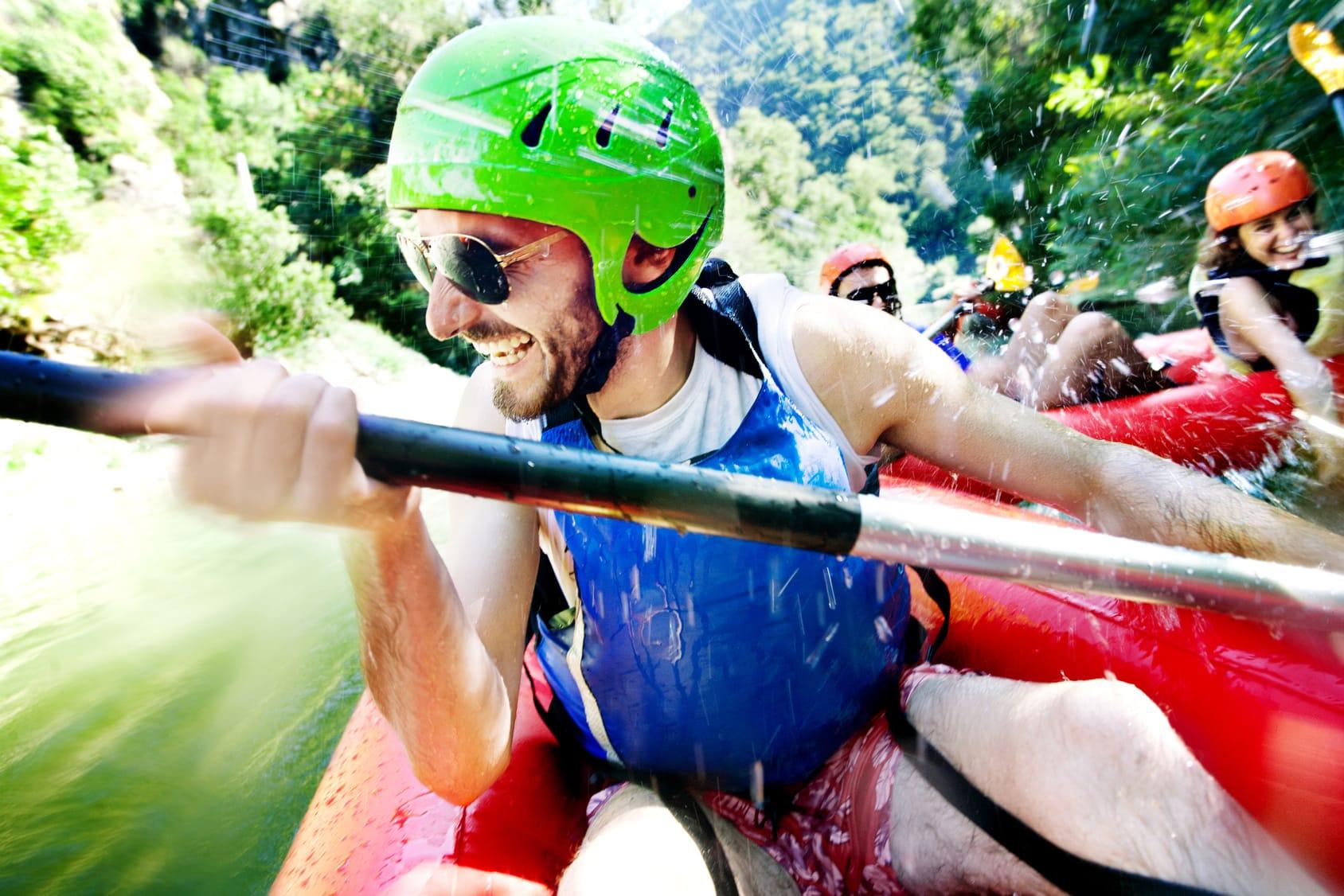Rafting - spływ górską rzeką - Czarna Góra Resort