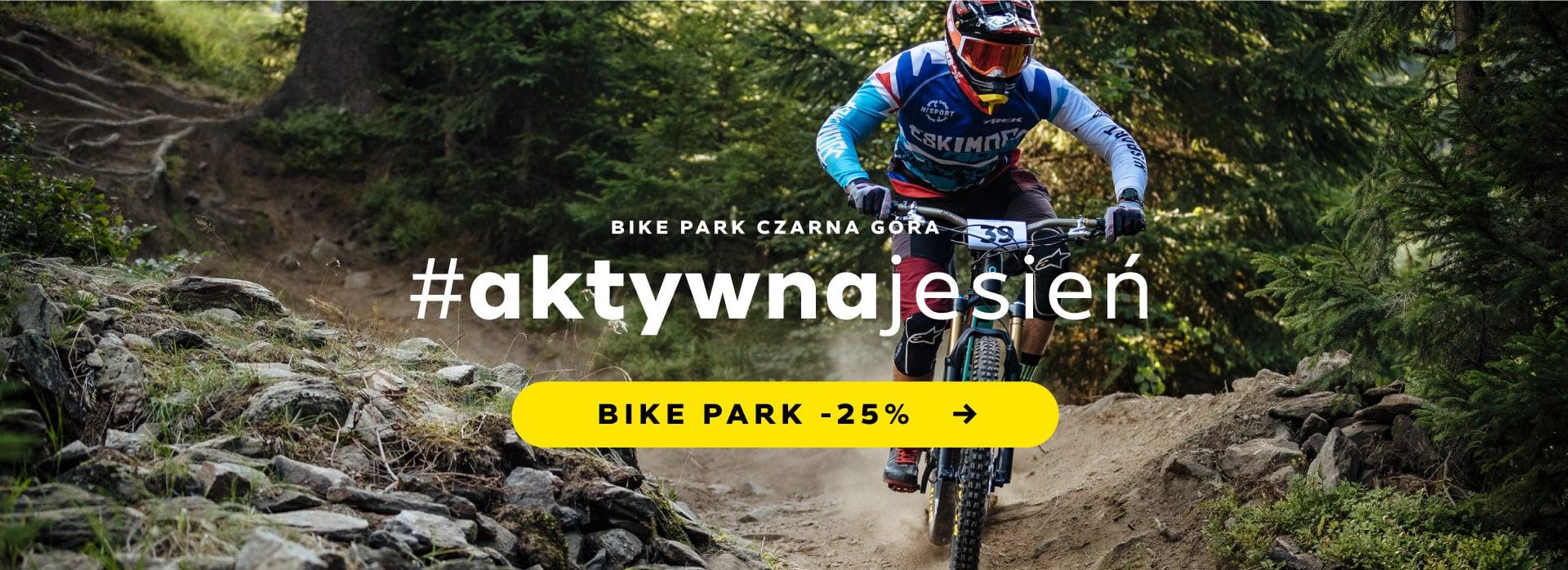 Aktywna jesień w Bike Park Czarna Góra