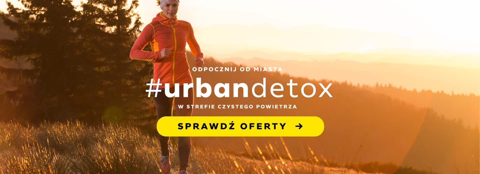 Urban detox w Czarna Góra Resort