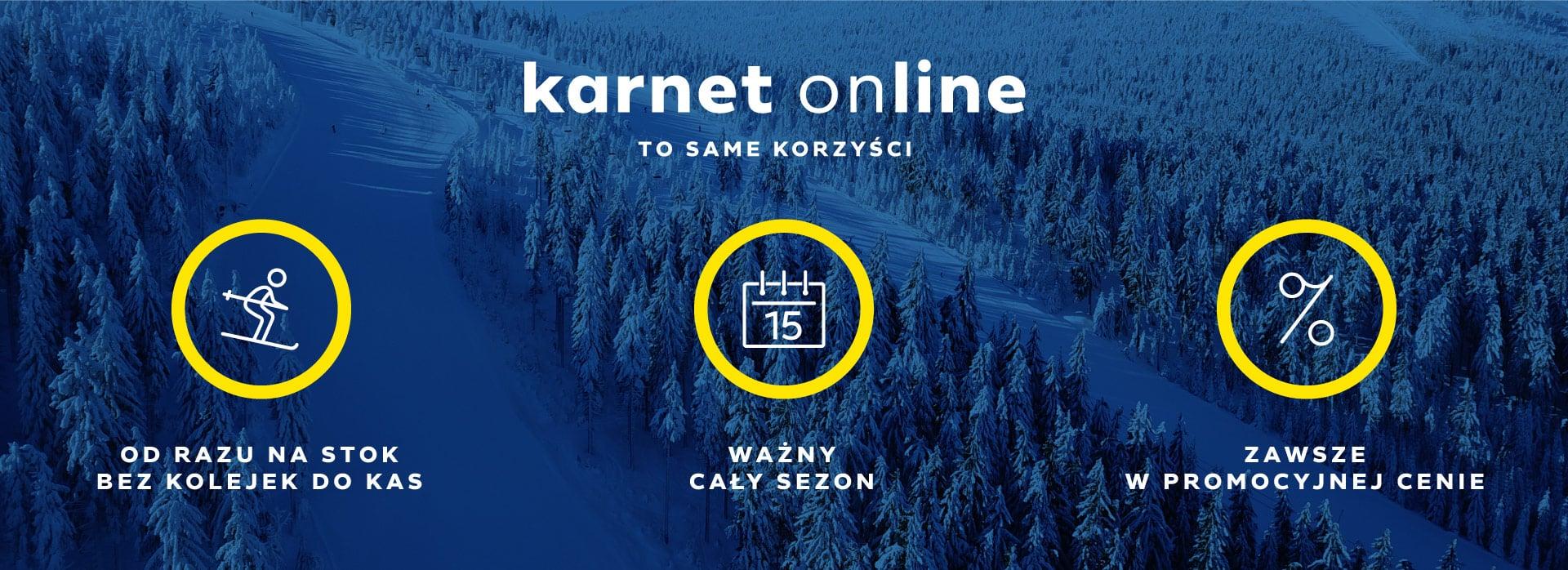Kup karnet online - Ośrodek Narciarski Czarna Góra Resort