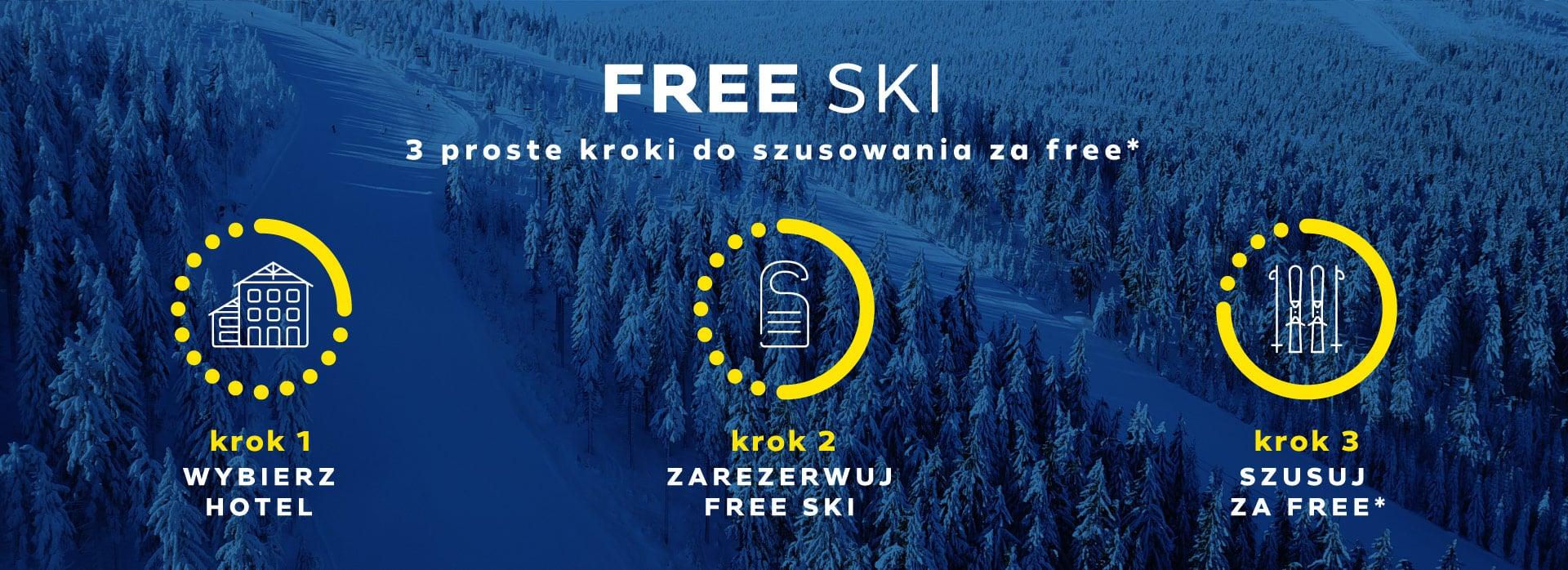 Free Ski w Czarna Góra Resort