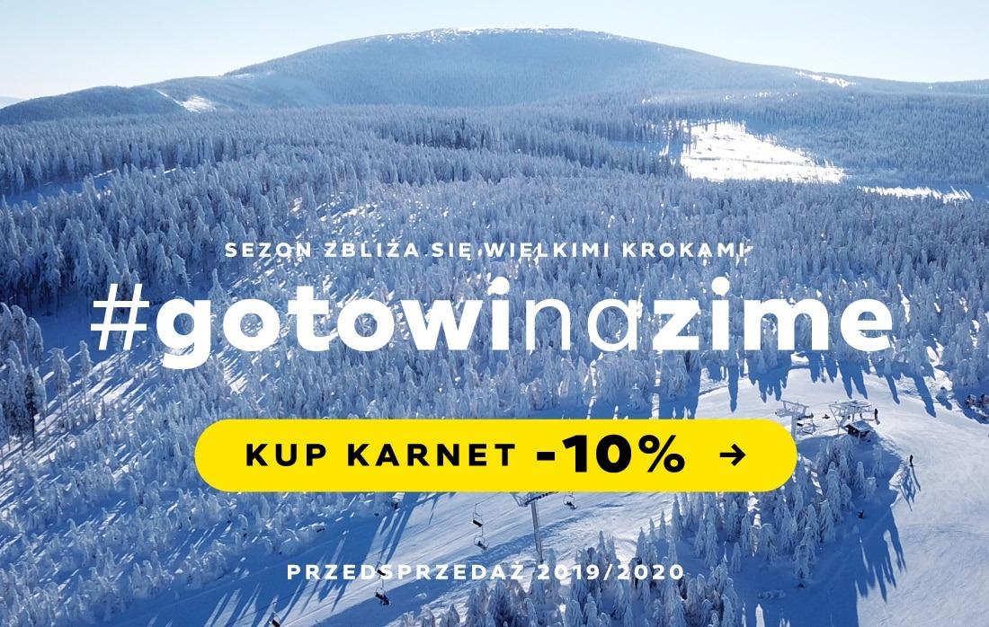 Karnety narciarskie Czarna Góra Resort - Przedsprzedaż - Skipassy -10%