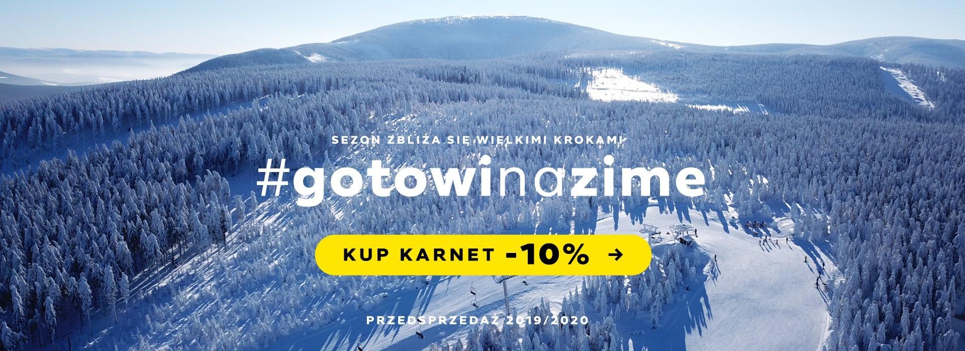 Karner narciarski Czarna Góra Resort Przedsprzedaż - Skipass -10%