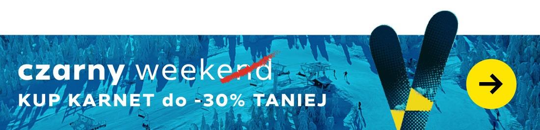 Czarna Góra Resort - Kup wygodnie karnet online z rabatem do -30%