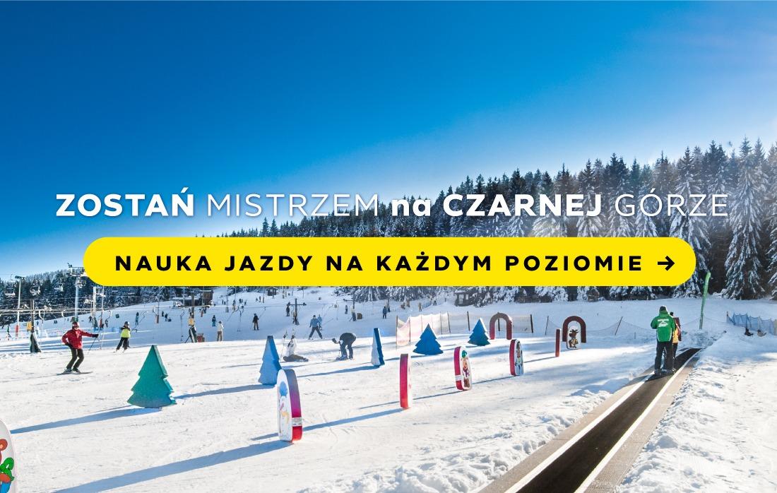 Nauka jazdy na nartach w Czarna Góra Resort