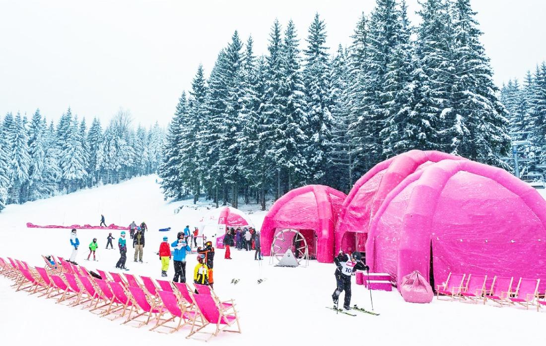 Treningi na tyczkach Narciarstwo Alpejskie Czarna Góra Resort