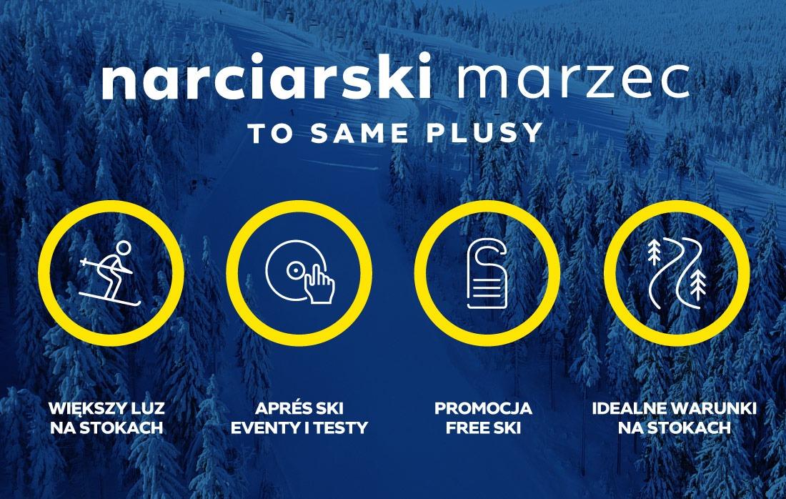 Narciarski Marzec w Czarna Góra Resort - Free Ski, Apres Ski, Super Warunki Narciarskie